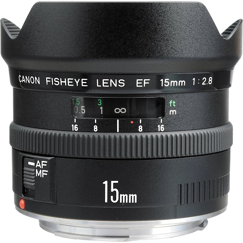 Canon 15mm fisheye f/2.8