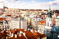 Prague tilt shift 2