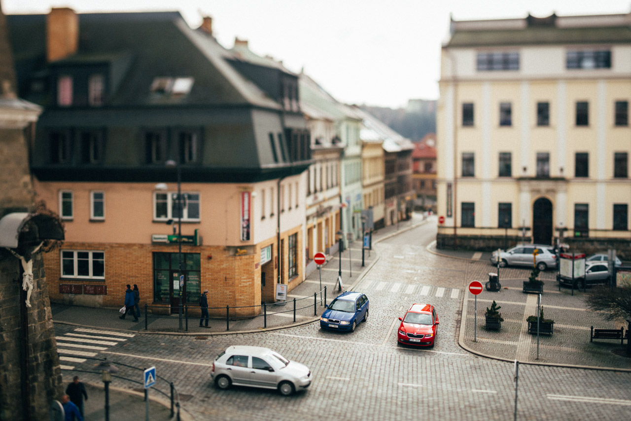 Turnov square tilt-shift