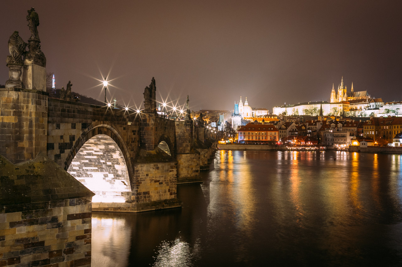 Karls bridge in Prague